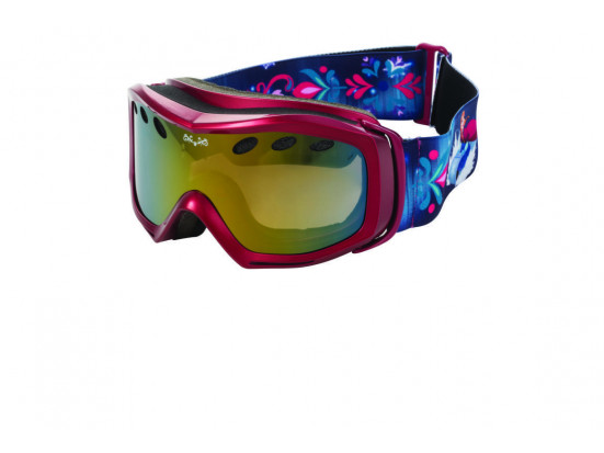 Masque de ski pour enfant DEMETZ Rose MSKI FROZEN Rose cat 3