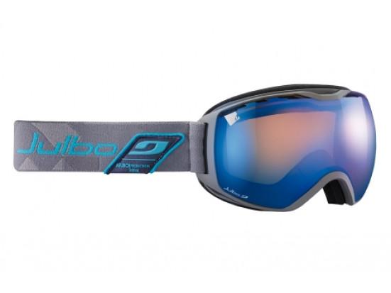 Masque de ski mixte JULBO Gris QUANTUM Gris / Bleu Spectron 3+