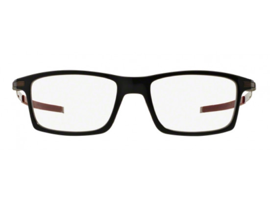 Lunettes de vue pour homme OAKLEY Noir Mat OX 8050-05 PITCHMAN 55/18